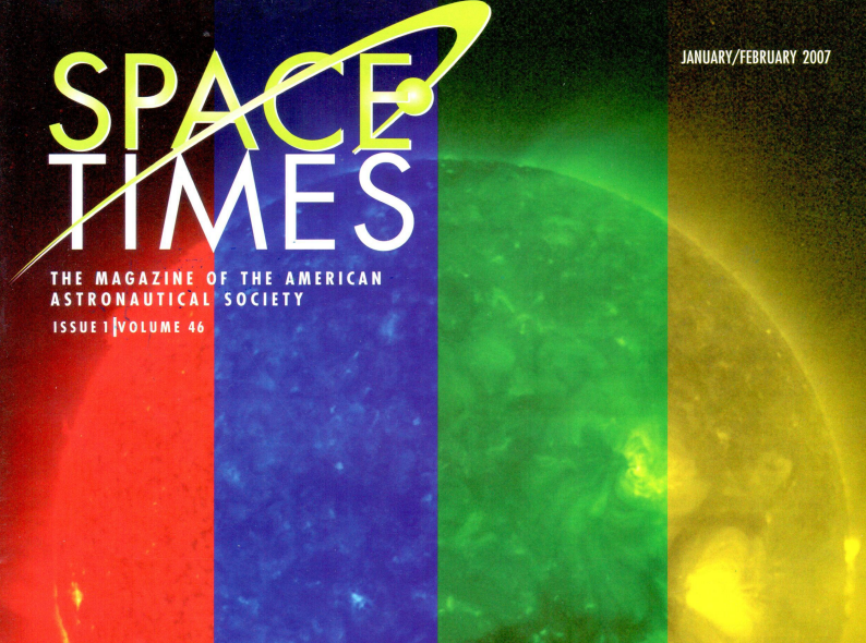Back Issues of Space Times Added to AAS Website