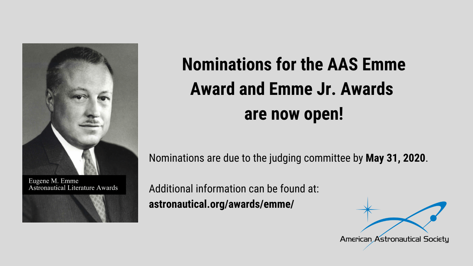 Nominations for the Emme Award and Emme Juniors Awards are now open