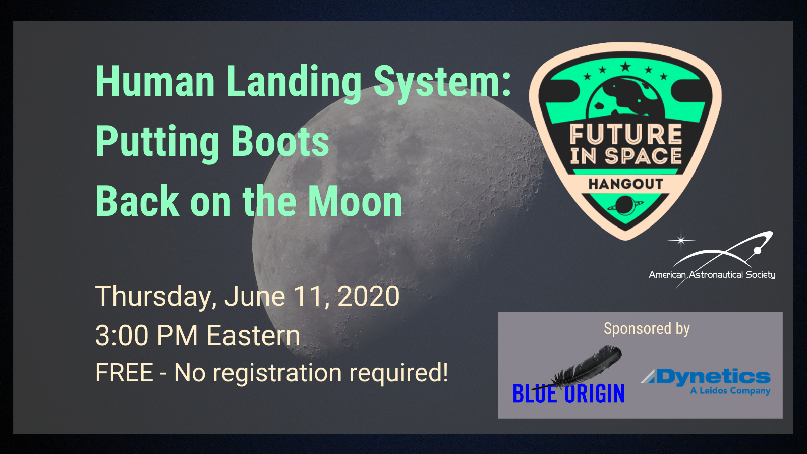 Human Landing System: Putting Boots Back on the Moon
