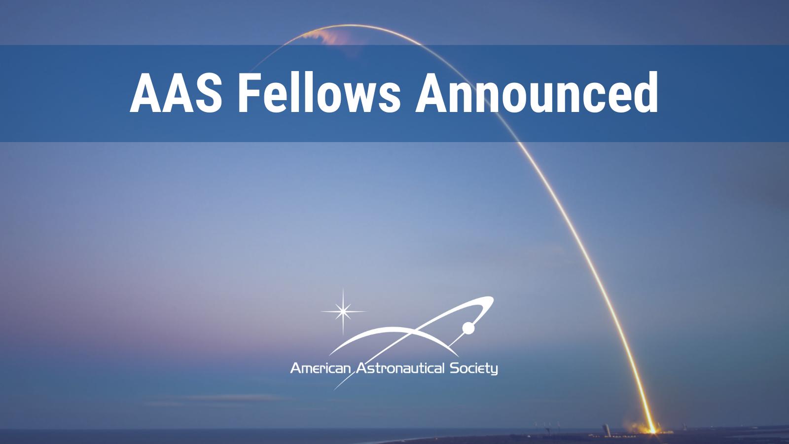 AAS Fellows Announced